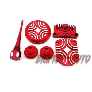 Red Engine Dress Up Kit Tappet Cover Chinese 110cc 125cc Atv Quad Dirt Pit Bike Back To Search Resultshome