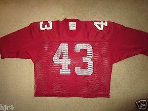 St-Louis-Cardinals-Arizona-43-NFL-Football-Game-Used-Sand-Knit-used-Jersey