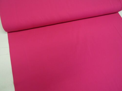 Jersey De Algodón Suave Color Liso Camiseta de punto elástico bebé crezca Vestido De Tela