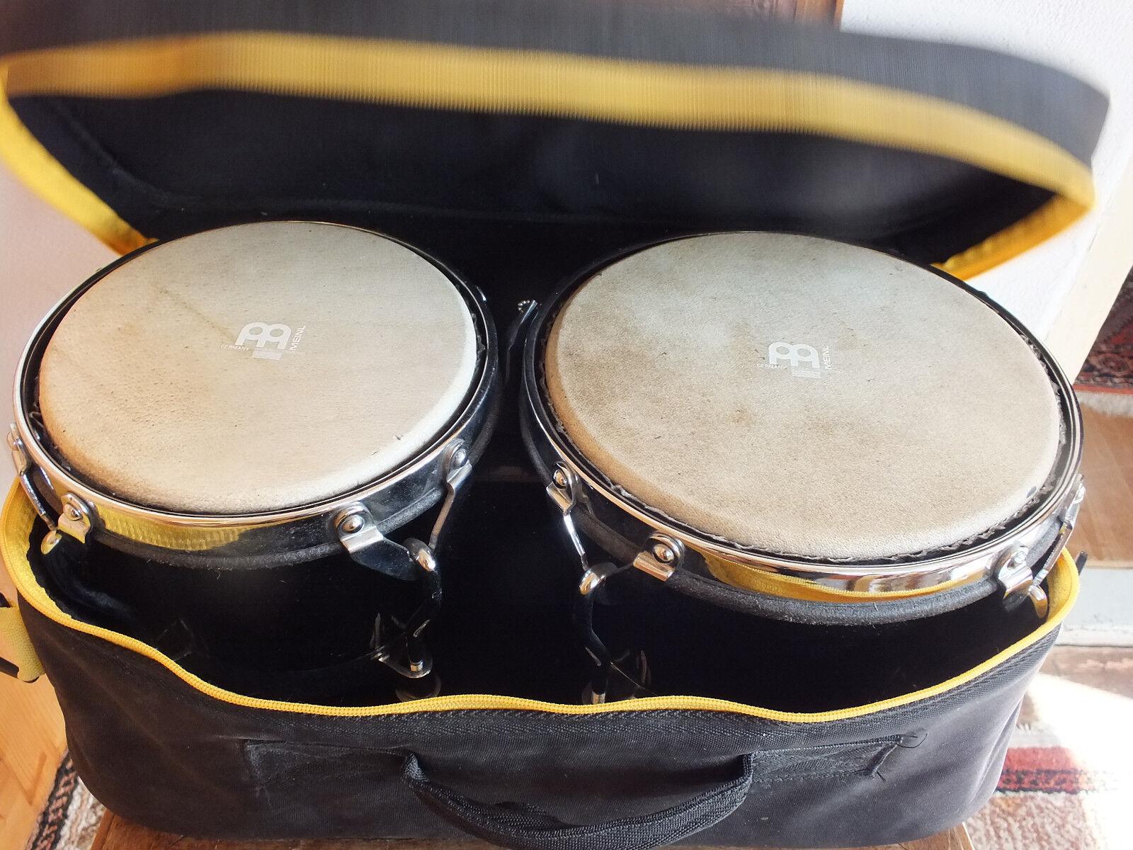 Bongos von Meinl mit Tasche + Spannschlüssel