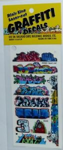 Blair Line 2245 Mega Set 2 Graffiti Decals Spur H0 1:87 Laser cut