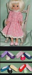 Doll Shoes 24mm NAVY Slip on Flats fit Kish Ellery Tiny Betsy AGA Fairy