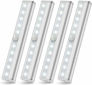 Wireless-Under-Cabinet-Lighting-Motion-Sensor-Night-Light-Battery-Powered-4-PCS