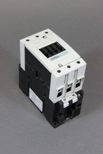 SIEMENS Leistungsschütz 3RT1046-1BB40 24VDC AC-3 230V 22kW 400V 45kW 690V 55kW