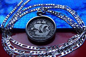 New 0.925 Sterling Silver Sailboat Sailboard Sailing Ship Charm Pendant Necklace