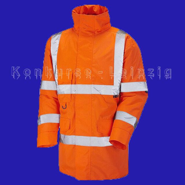 Tawstock ISO 20471 Klasse 3 Anorak A01-O orange Gr. S Neu