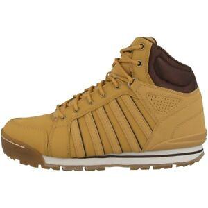 Details zu K Swiss Norfolk SC Schuhe Herren Boots High Top Sneaker amber gold 05677 721