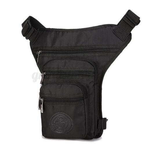 US Waterproof Motorcycle Waist Leg Bag Drop Outdoor Thigh Belt Fanny Pack Purse