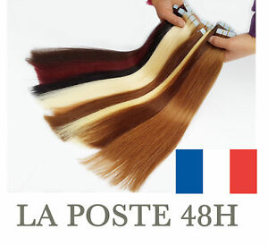 7A-EXTENSIONS-TAPE-BANDES-ADHESIVES-CHEVEUX-NATURELS-REMY-HAIR-49-60-CM