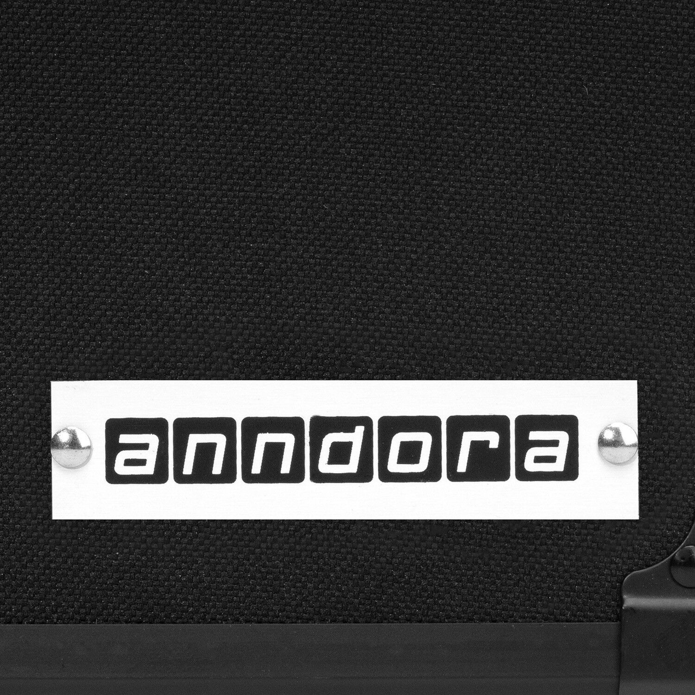 Anndora Waffenkoffer Waffenkoffer Waffenkoffer Pistolenkoffer Zahlenschloss - Schwarz 33 x 11,5 x 26 cm ab1801