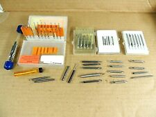 Lot Lathe Tooling For Machine Shop Micro Carbide Bits And Cutters Micro