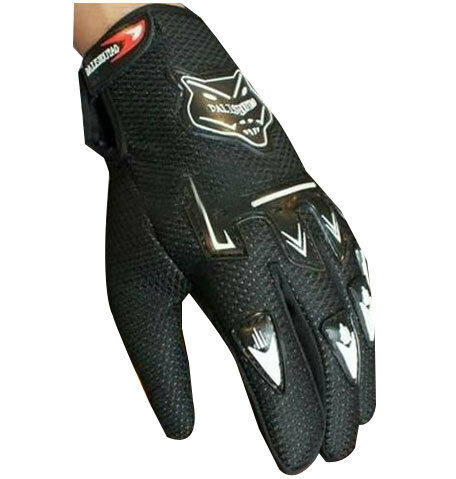 DLT 1 Pair of Bike Gloves Hand Grip for/Motorcycle/Scooter Riding Gloves .black