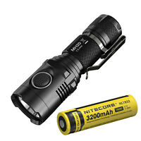 Nitecore MH20 1000Lumens CREE XM-L2 U2 USB Rechargeable LED Flashlight w/Battery