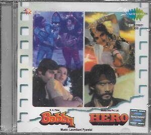 Boby-Heros-2-IN-One-Films-Chansons-Neuf-Bollywood-Son-Piste-CD