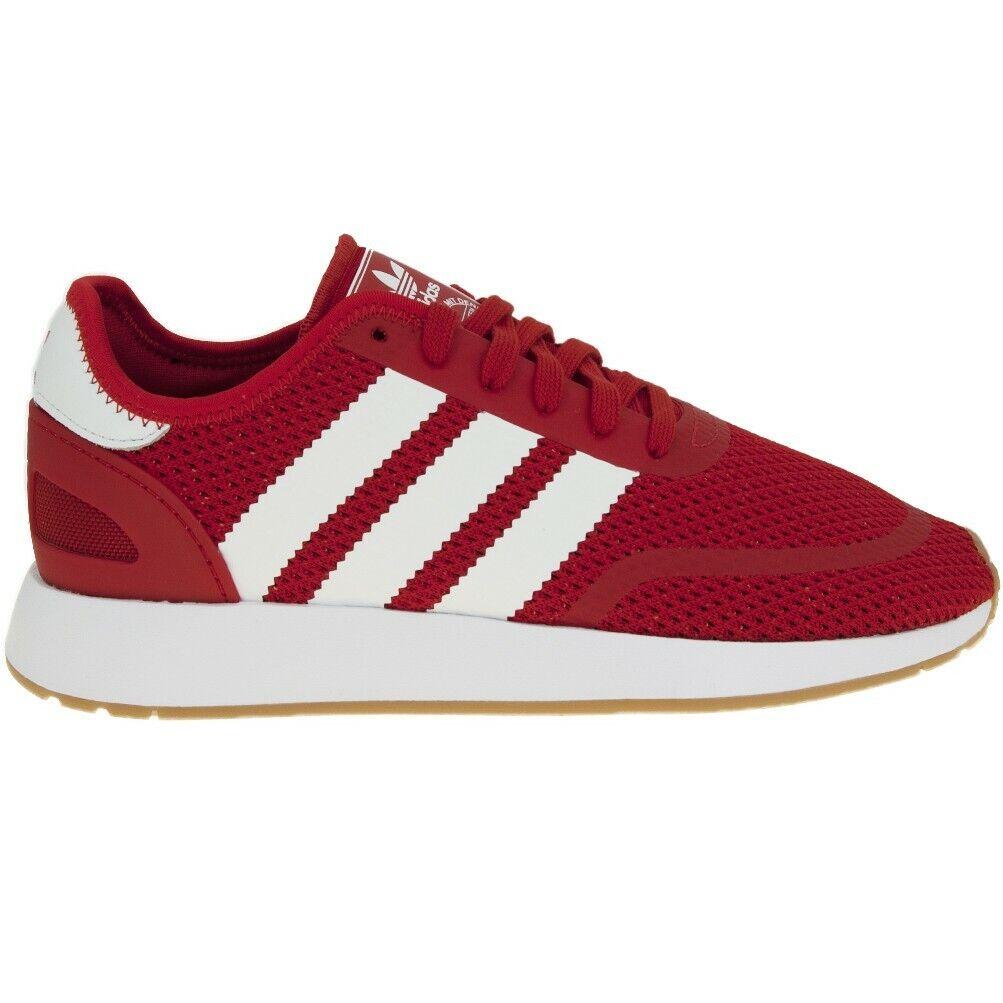 Adidas zapatos Originales Hombre N-5923 BD7815 Rojo Escarlata Zapatillas Nuevo