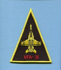VFA-31 TOMCATTERS BOEING F-18 SUPER HORNET US Navy Fighter Squadron Jacket Patch