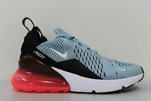 Nike Womens Air Max 270 Ocean Bliss Hot Punch Black White AH6789-400 ... a6f49aa6a3