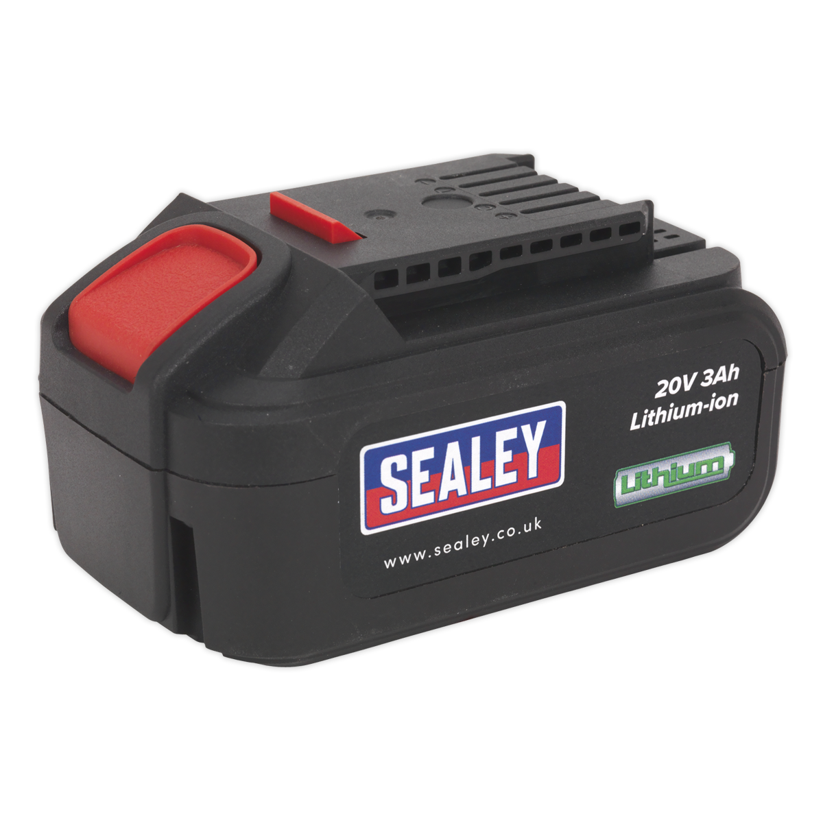 Power Tool Battery 20V 3Ah Lithium-ion for CP20V Series   SEALEY CP20VBP by Seal