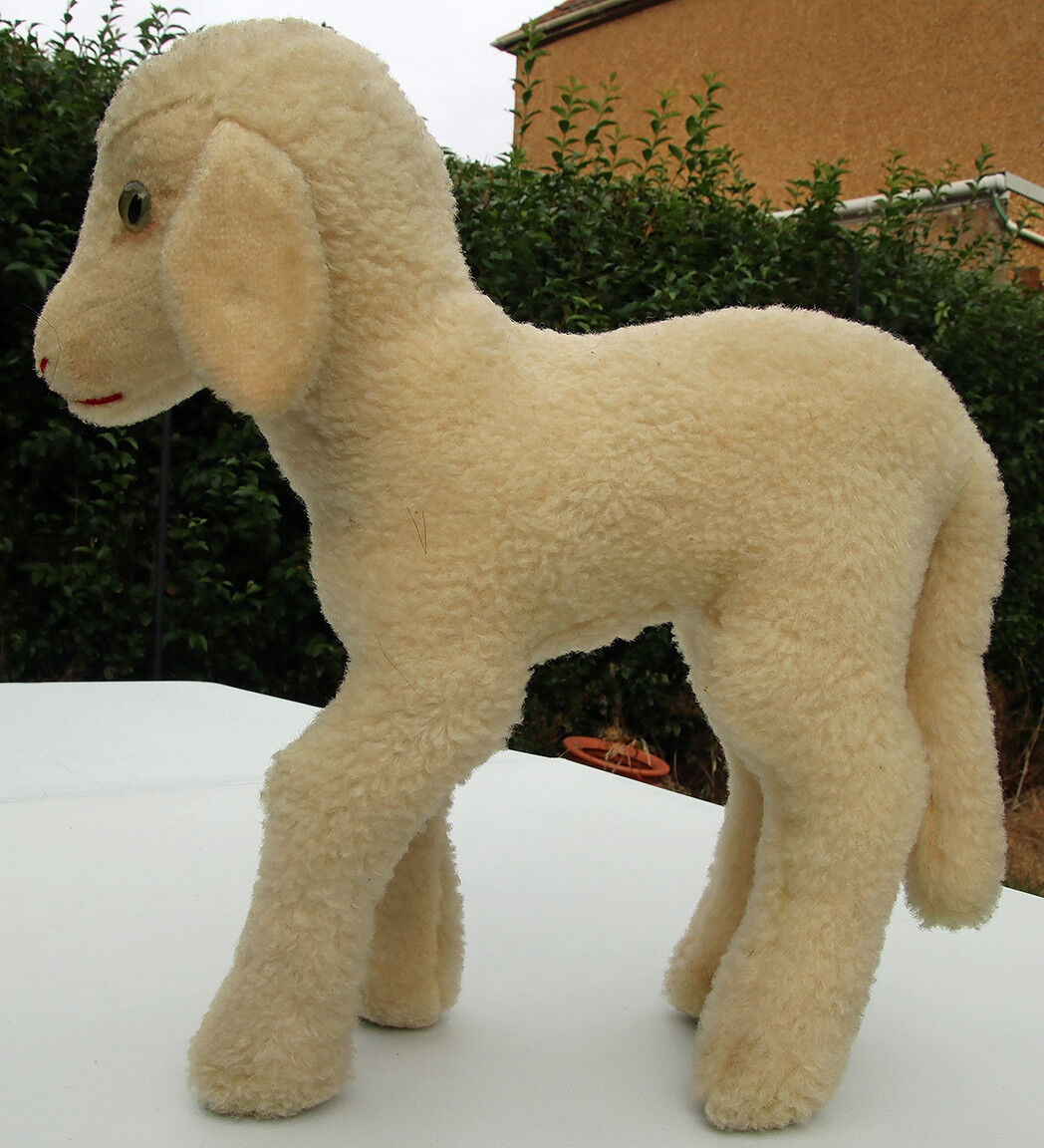 Steiff Lamby  6535.0 1954-1958 with RS button