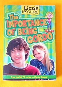 The-Importance-of-Being-Gordo-Lizzie-McGuire-hit-TV-show-used-paperback-Disney