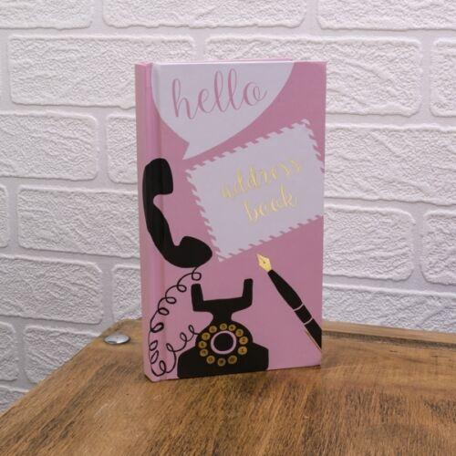 Soul ADDRESS BOOK pad 11cm x 18cm Handbag reminder New