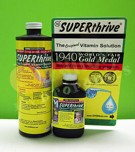 SUPERTHRIVE-4oz-16oz-1-Pint-Plant-Vitamins-amp-Hormones-Cuttings-Transplanting