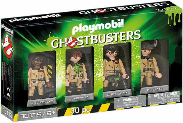 Playmobil® Ghostbusters™ 70175 Set de 4 figuras de los cazafantasmas