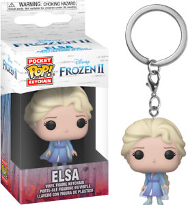 Elsa Frozen 2 keyring funko pop!