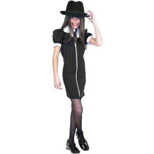 Child/'s Zip-Up Gangster Dress Costume