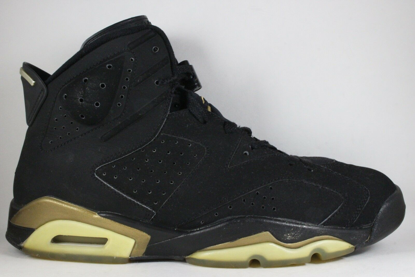 Nike Air Jordan 6 VI Retro DMP Pack Black gold size 11.5