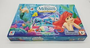 2005 The Little Mermaid Walt Disney 3D Special Edition Board Game - Complete