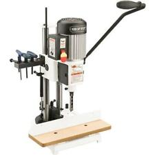 Shop Fox W1671 34 Hp Heavy Duty Steel Quick Adjust Depth Mortising Machine