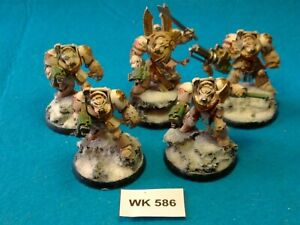 WH40K-Space-marines-Deathwing-Terminators-x5-Pro-Painted-WK586