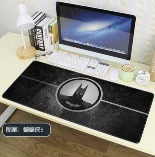Batman Super hero Cartoon mouse pad large size Non-slip decorative mat