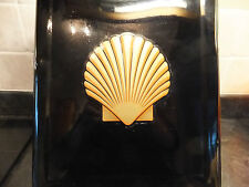 Vintage Petrol Tin Can Gold Shell Decal Transfer Humber Austin 1920s Morris Bean