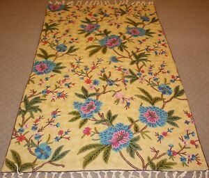 Large-Persian-Handmade-Wool-Rug-Carpet-Runner-Oriental-Antique-Floor-Decor