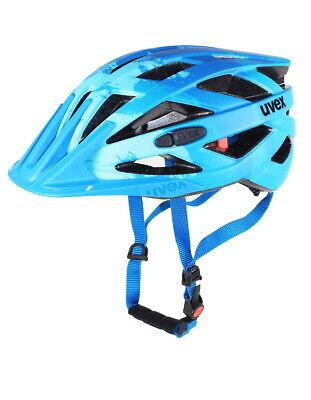 Uvex I-vo Cc Casco Bicicletta Light Blue Mat Ruota Bicicletta Bike Mtb City Bicicletta Da Corsa Casco-