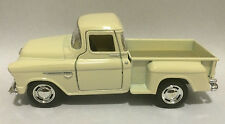 Kinsmart 1955 Chevy Stepside 3100 Pick up truck 1:32 scale model white