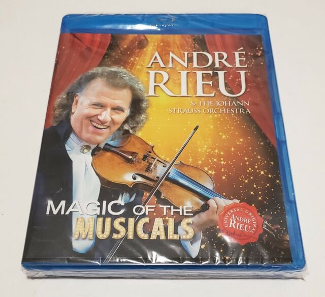 ANDRE RIEU - MAGIC OF THE MUSICALS, THE (BLU) (UK IMPORT) Blu-Ray NEW - MUSIC