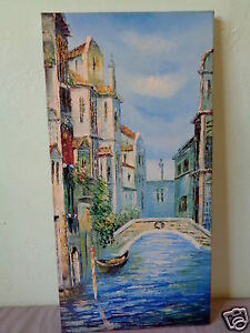 Vintage Signed Mystery Artist M Harding European Waterway Painting On Canvas Ebay If you require a cheaper canvas. details about vintage signed mystery artist m harding european waterway painting on canvas