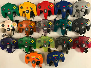 GREAT-Nintendo-64-Controller-AUTHENTIC-OEM-ORIGINAL-CLEANED-TIGHT-STICK