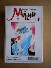 VAMPIRE PRINCESS MIYU n°1 edizione Play Press Manga  [G371D]