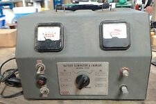 Vintage - Used Eico battery eliminator & charger model 1050 - 60 day warranty