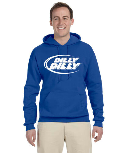 Dilly Dilly Bud Light Drinking Adult Pullover Hoodie Sweat Shirt Great Gift!!