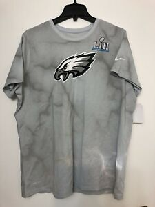 6cb7fc923 Nike Mens PHILADELPHIA EAGLES SUPER BOWL LII BOUND MEDIA NIGHT T ...