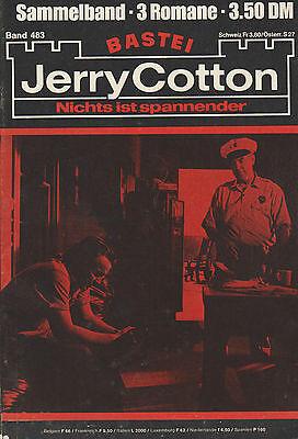 Jerry Cotton Sammelband 483 - 3 Einzelbände