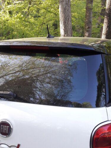 "2002-2005 Honda Civic SI Hatchback FITS **SHORT**  4/"" BLACK ALUMINUM ANTENNA"