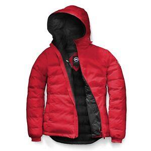 Goose Taille Camp 5055l Veste petit Capuche S Canada Femmes Rouge dRxwdP