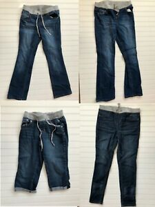 Justice-Used-Upick-Girls-Jeans-Capris-Size-10-and-16