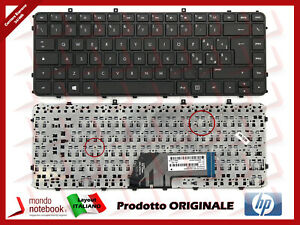 Tastiera-Notebook-HP-Sleekbook-ENVY-6-1000-4-1000-4-1100-4-1200-CON-FRAME